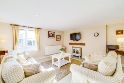 Bryony living room| Birchill Farm Cottages | Devon