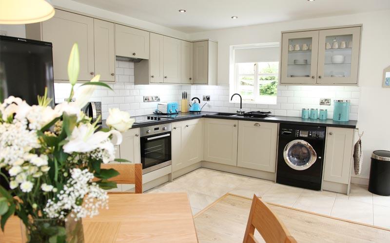Elderberry-Cottage kitchen - farm cottages devon