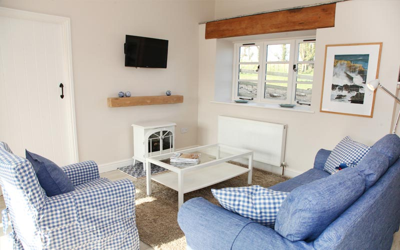 willow cottage lounge - farm cottages devon