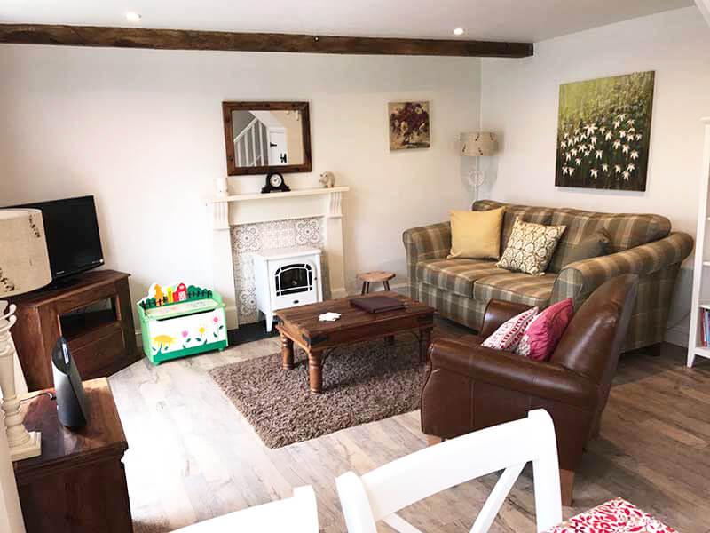 Bramble Cottage lounge | Birchill farm Cottages