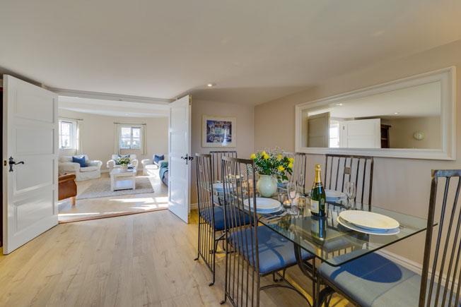 Granary dining room | Birchill Farm Cottages | Devon