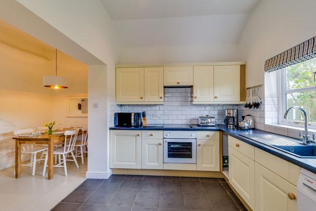 Hazel Cottage kitchen | Birchill Farm Cottages | Devon