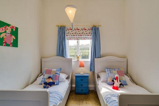 Hazel children's bedroom | Birchill Farm Cottages | Devon